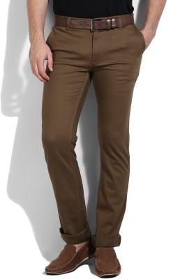 Pepe Jeans Regular Fit Men's Brown Trousers