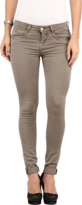 Lotus Skinny Fit Women's Grey Trousers