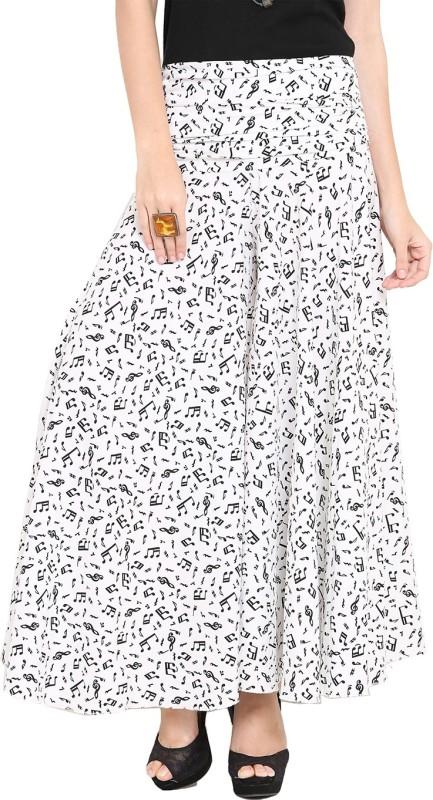Trend Arrest Regular Fit Women's White Trousers