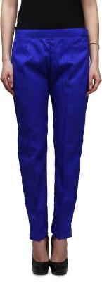 Legis Regular Fit Women,s Blue Trousers