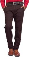 British Terminal Skinny Fit Mens Brown Trousers