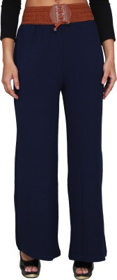 LGC Regular Fit Women's Dark Blue Trousers