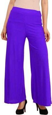 Esszee Regular Fit Women's Purple Trousers