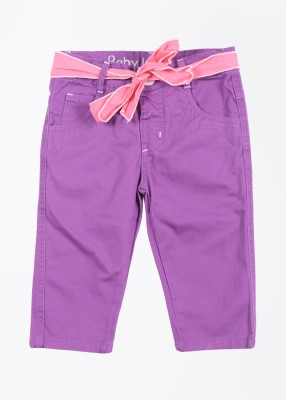 Baby League Baby Girl's Purple Trousers