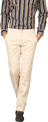Provogue Regular Fit Men's Beige Trousers