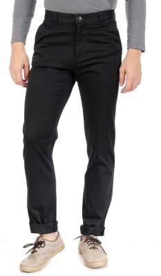 Sting Regular Fit Men's Black Trousers
