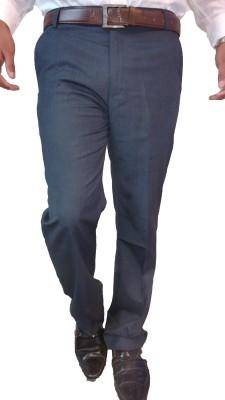 Burning Desire Inclusive Regular Fit Men's Dark Blue Trousers