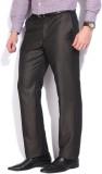 Park Avenue Slim Fit Men's Brown Trouser...