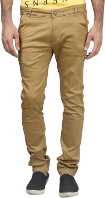 Trendy Trotters Regular Fit Men's Gold Trousers