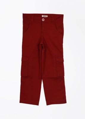 People Boy's Maroon Trousers