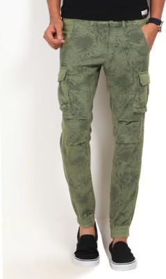 GAS Skinny Fit Men's Green Trousers