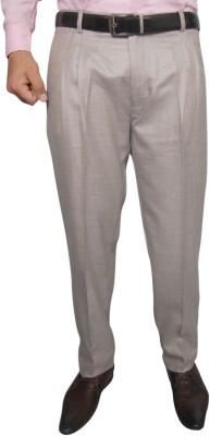 Hartmann Slim Fit Men's Beige Trousers