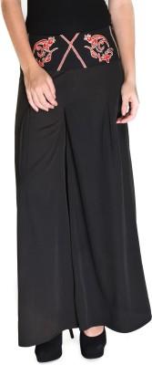 Hermosear Regular Fit Women,s Black Trousers