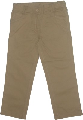 Red Rose Slim Fit Baby Boy's Cream Trousers