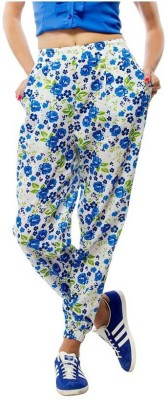 Orous Regular Fit Women's Blue Trousers