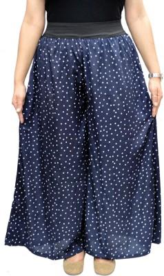 Sumo Regular Fit Women's Dark Blue, White Trousers