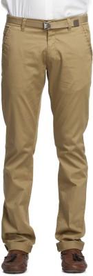 Beevee Regular Fit Men,s Beige Trousers