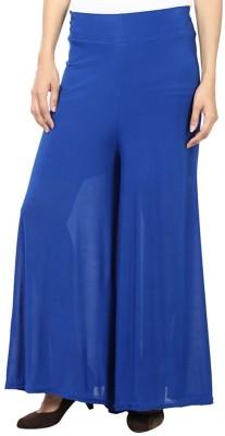 Pushpanjali Fashion Hub Regular Fit Women's Blue Trousers