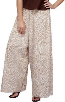Lifestyle Retail Regular Fit Women's Multicolor Trousers