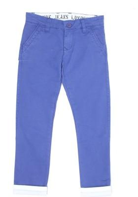 Pepe Jeans Slim Fit Boy's Denim Blue Trousers