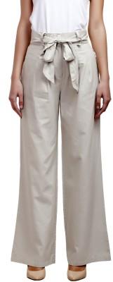 Urban Rust Slim Fit Women's Beige Trousers