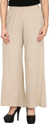Le Luxe Slim Fit Women's Green Trousers