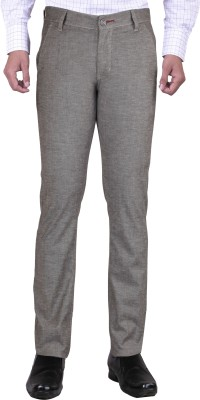 Bandit Slim Fit Men,s Grey Trousers