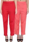 NumBrave Regular Fit Women's Red, Pink T...