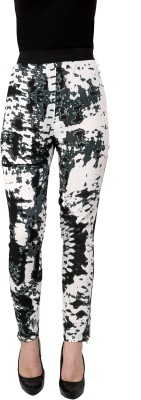 I Am For You Regular Fit Women's White Trousers