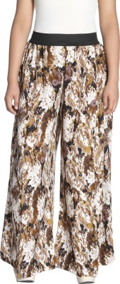 lady in style Regular Fit Women's Brown Trousers