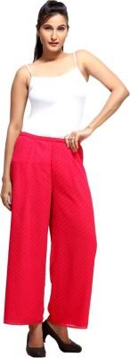 Loco En Cabeza Regular Fit Women's Pink Trousers