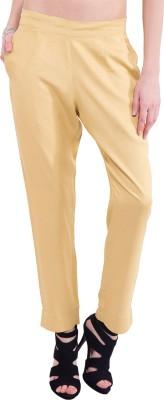 Saiarisha Regular Fit Women's Beige Trousers
