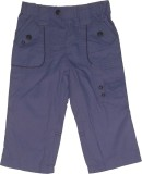 Red Rose Regular Fit Boys Purple Trouser...