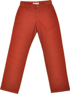 NOQNOQ Regular Fit Boy's Brown Trousers