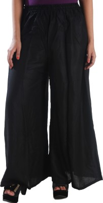 Awesome Regular Fit Women's Black Trousers
