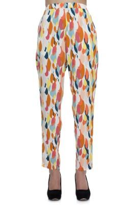 Zaivaa Regular Fit Women's Brown Trousers