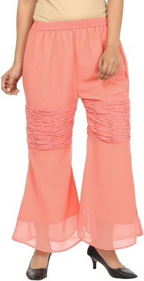 Pops N Pearls Regular Fit Women's Pink Trousers