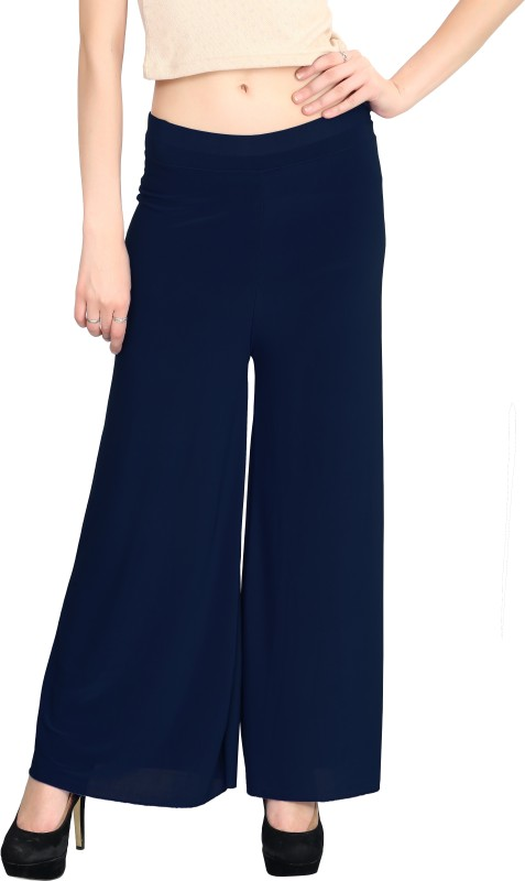 Elvin Regular Fit Women's Dark Blue Trousers
