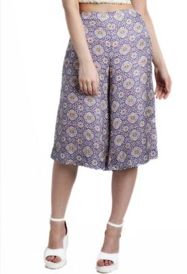 Divaat Regular Fit Women's Purple Trousers