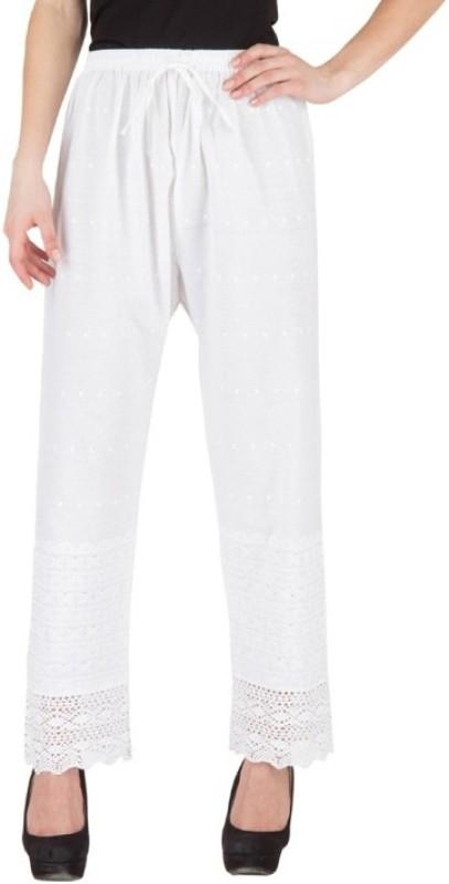 Hardys Regular Fit Women's White Trousers
