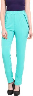 Ridress Regular Fit Women's Light Blue Trousers