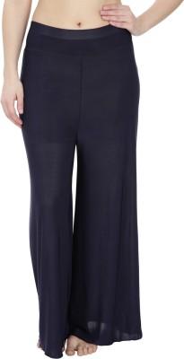 Secret Wish Regular Fit Women's Dark Blue Trousers