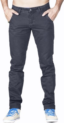 Bombay Casual Jeans Slim Fit Men's Grey Trousers