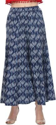 We Desi Regular Fit Women's Blue Trousers