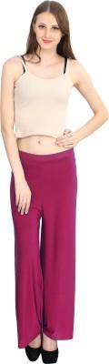 ELVIN Regular Fit Women's Pink Trousers