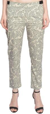Bargain Basement Slim Fit Women's Multicolor Trousers