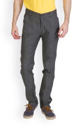 Bloos Jeans Slim Fit Men's Grey Trousers