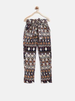 Yk Regular Fit Girl's Multicolor Trousers