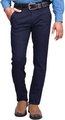 American Noti Skinny Fit Men's Blue Trousers
