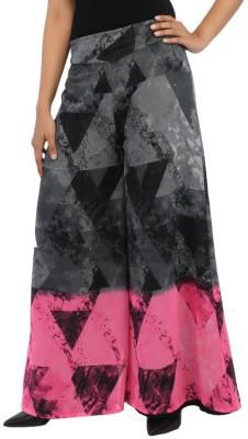 Rigoglioso Regular Fit Women's Grey, Pink Trousers